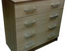 Фотография в Мебель и интерьер Мебель для спальни Комод с 4мя ящиками. Размер комода 800*830*440. в Саратове 2980