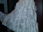 Смотреть foto  Продам садебное платье с ручной вышивкой 35323202 в Саратове