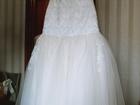 Скачать фотографию  Cвадебное платье 37523593 в Саратове