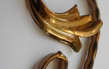 Декор решетки (зеркальное покрытие элементов золотом, серебром, цветом)