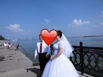 Скачать изображение  Свадебное платье белого цвета 39426823 в Саратове