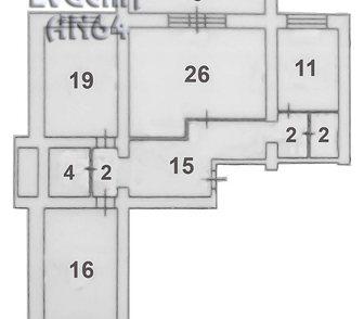 Фотография в Недвижимость Продажа квартир Продаётся трёхкомнатная квартира, с просторной в Саратове 2600000