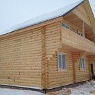 Новый дом 180 кв, м из оцилиндрованного бревна на участке 15 соток