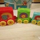 Пакет развивающих игрушек fisher price, chicco, за