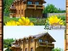 Уникальное изображение Разное Гостиницу деревянную в Крыму из сруба 35125235 в Симферополь