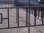 Свежее фотографию Строительные материалы Металлические ритуальные ограды: 35908422 в Сясьстрое