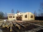 Смотреть фото Строительство домов Бригада строителей, с опытом работы более 15 лет, профессионально и недорого построит деревянный коттедж, дом, сруб бани, беседку из профилированного бруса или 67764923 в Смоленске
