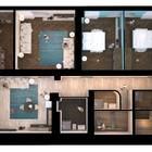 1 этаж. Квартира 154кв.м. отдельный вход, высокие потолки 3.