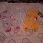 Одежда на девочку 1-9 месяцев