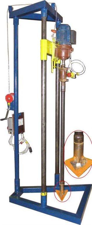 Бурильная установка для скважин воды своими руками