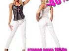 Увидеть изображение Женская одежда Соблазнительные брюки белого цвета артикул - Артикул: AC4033 37637077 в Ставрополе