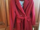 Фотография в   Продам пальто дамское демисезонное красное в Сургуте 7000
