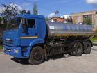 Скачать фото Грузовые автомобили Молоковоз Камаз 65115 9,8 м3 (новый водовоз) 38497121 в Калининграде