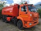 Свежее фотографию Грузовые автомобили Топливозаправщик АТЗ-17 Камаз 65115 (новый бензовоз) 38497488 в Калининграде