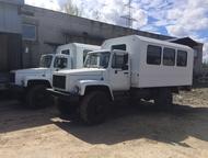 Вахтовый автобус с двигателем ЯМЗ 4х4 В наличии вахтовый автобус на базе ГАЗ 330