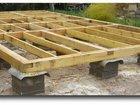 Фото в Строительство и ремонт Другие строительные услуги Столбчатый фундамент — это система из установленных в Тамбове 0