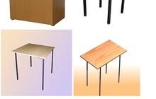 столы и тумбы прикроватные