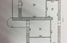 2-к квартира, 62 м?, 4/10 эт.