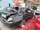 Фото в Авто Аварийные авто Двигатель целый, коробка, салон, подлежит в Тюмени 70000