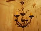 Смотреть фото Светильники, люстры, лампы ЛЮСТРА БРОНЗА С ХРУСТАЛИКАМИ на 4 свечи сталинская бронза 38573191 в Тюмени