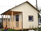 Новое фото Строительство домов Каркасный дом 5 м х 4,5 м с террасой  43833811 в Тюмени