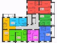 Продам 1 ком квартиру напротив ТЦ Лента Мельникайте 43 кв, м 13/14кирпич, 44/8,
