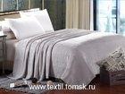 Увидеть изображение Разное Большой однотонный плед на кровать, плед на диван, 32679672 в Томске