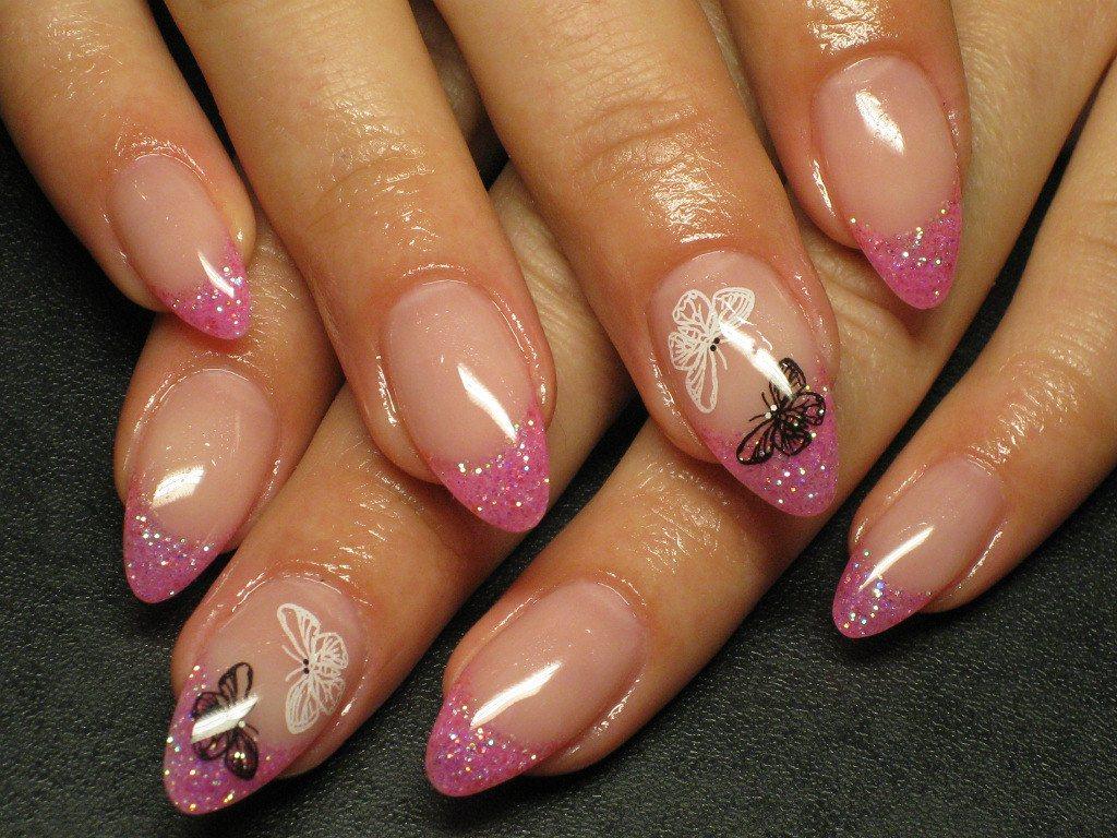 Красивый дизайн гелевых ногтей.фото