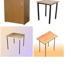 Мебель для рабочих эконом-вариант