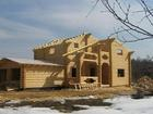 Скачать бесплатно фотографию Строительство домов Дом ручной рубки или из оцилиндрованного бревна? 40279307 в Твери