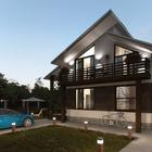 Строительсто домов из СИП панелей под ключ