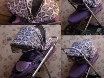 Свежее foto Детские коляски Коляска-трансформер 2в1 Happy Baby Ultra Purple 38660266 в Твери