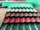 Изображение в Строительство и ремонт Строительные материалы Профнастил. Цветной (зеленый, вишневый, синий, в Уфе 330