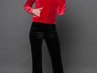 Свежее foto Женская одежда Спортивный костюм КС бархат красный/черный 36787677 в Уфе