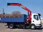 Свежее фотографию Грузовые автомобили Кран манипулятор 5 тонн , грузоперевозки 37463689 в Уфе