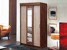 Фото в Мебель и интерьер Мебель для прихожей Шкаф-купе Мираж-11 с зеркалом идеально в Уфе 5670