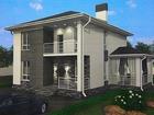 Смотреть изображение Загородные дома Продается коттедж 167,5м2 на участке в 8 соток 66359939 в Уфе
