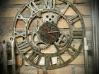 Смотреть изображение  Часы - лофт, Декорированы искусственное старение 67783388 в Уфе