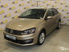 Volkswagen Polo 1.6AT, 2019, 459км