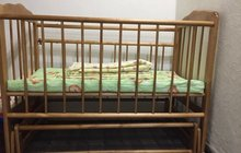 Кровать-маятник матрас и бортики