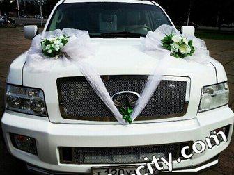 Просмотреть изображение Организация праздников Свадебные украшения на машину, 33593997 в Уфе