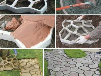 Скачать бесплатно foto Разное Форма для садовой дорожки Мозаика 68654448 в Уфе