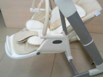Есть регулировка высоты стульчика, наклона спинки, положения столика и подножки,  Автоматическое качание, Срок поставки - 3-5 дней, Состояние: Новый в Уфе
