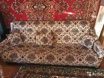 Мягкая мебель , диван и два кресла в отличном состоянии, диван раскладной в Уфе