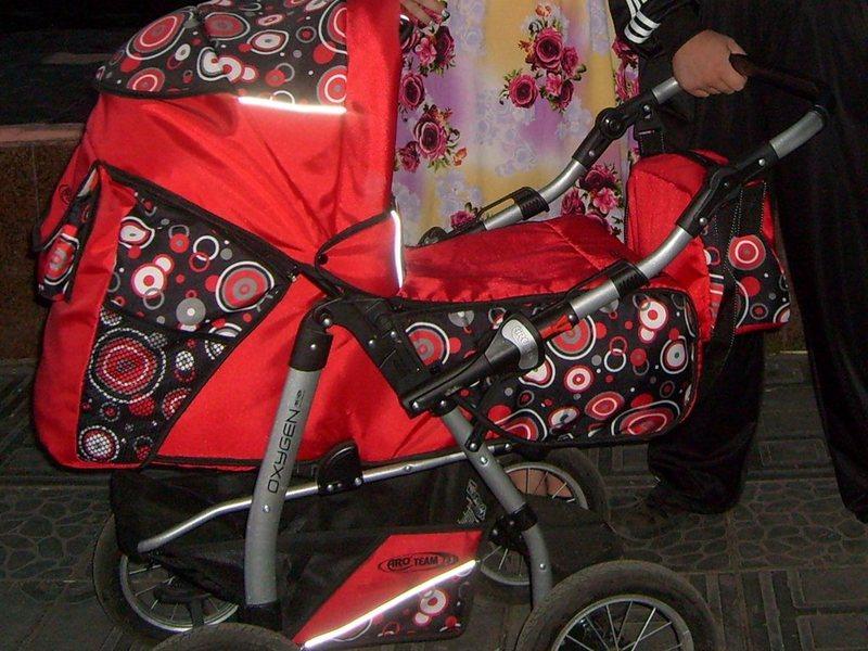 коляска oxygen фото