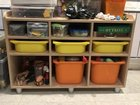 Шкаф и тумба для игрушек в детскую