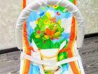 Шезлонг-качалка для новорождённых «Лесная сказка»
