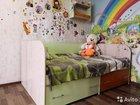 Кровать, шкаф, полка