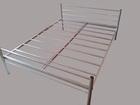 Свежее изображение  Двухъярусные металлические кровати для бытовок, кровати для общежитий, кровати металлические для студентов, 37136047 в Москве