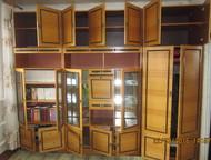 стенка трех-секционная Продаю стенку в отличном состоянии трёх-секционную, общая